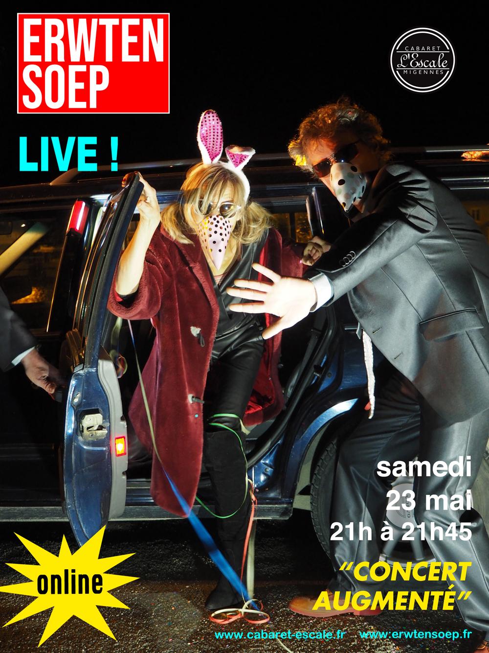 Concert live augmenté