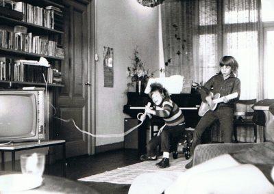 Sabien et son frère 1973