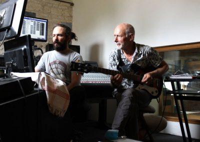 Studio Chantal Husine avec Dolf Planteijdt, septembre 2017
